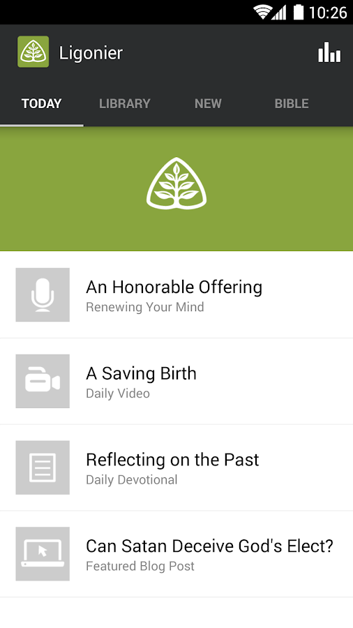 Ligonier Ministries - screenshot
