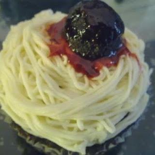 ~ Spaghetti & Meatball Cuppies ~