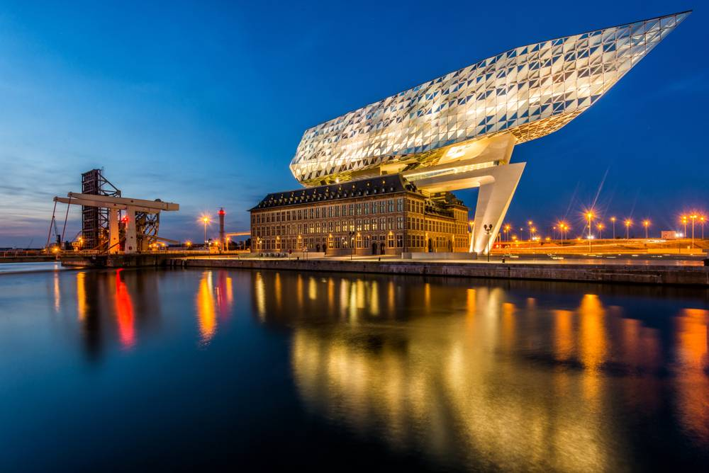 Thema Event 'Bricks' bij Port of Antwerp
