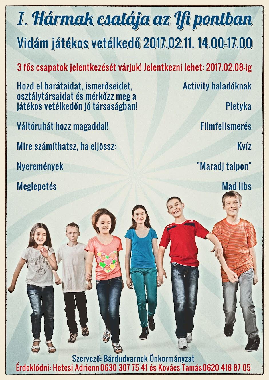 Hármak csatája Bárdudvarnok plakát 2017