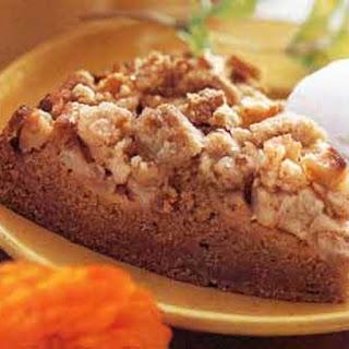 Pumpkin-Apple Streusel Cake