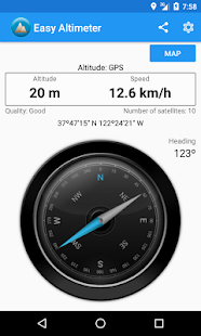 App Easy Altimeter and Compass APK for Windows Phone