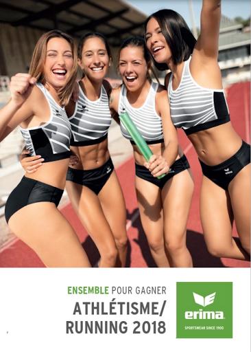 Textile - vêtement athlétisme et running - tenue de sport avec marquage