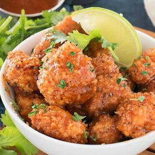 Baked Caribbean Jerk Chicken Bites
