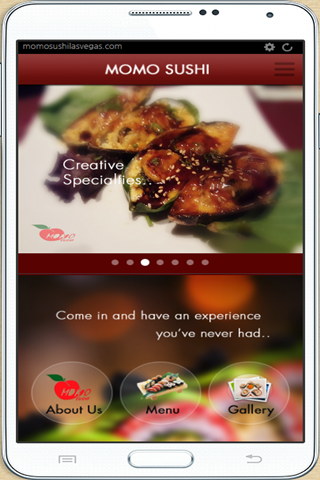 momo sushi- screenshot