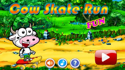 Cow Skate Run