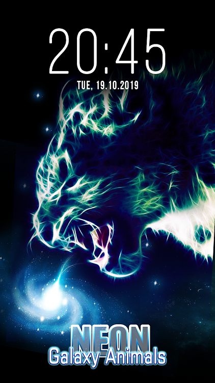 Animal Galaxy Neon Live Wallpapers Android Apps Appagg