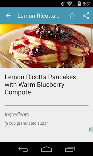 Code Triche Pancake Recipes Free APK MOD screenshots 3