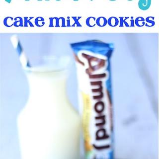 Almond Joy Cake Mix Cookies Recipe!.