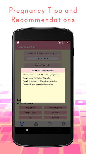 Pregnancy Calculators: Due Date & Gestational Age 2.4 screenshots 5
