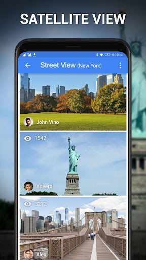 Street View - Earth Map Live, GPS & Satellite Map 1.0.9 Screenshots 14