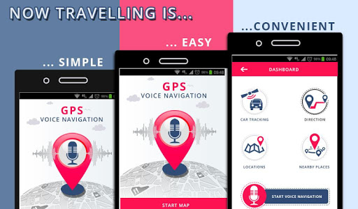 GPS Voice Navigation & Maps Route Finder app (apk) free