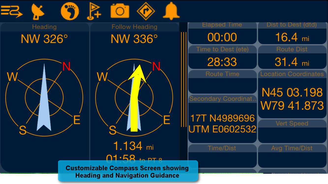 PathAway LE - Outdoor GPS Nav - screenshot