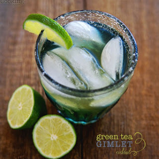 Green Tea Gimlet Cocktail