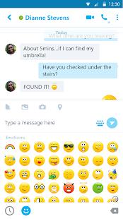 Skype: miniatura da captura de tela