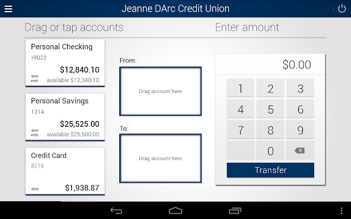 Jeanne D'Arc Mobile Banking screenshot 7