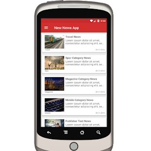 New News Android App- screenshot thumbnail