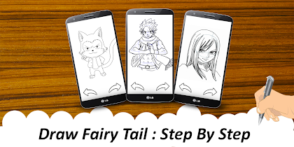 🎨 Learn To Draw fairy taile - screenshot thumbnail 07