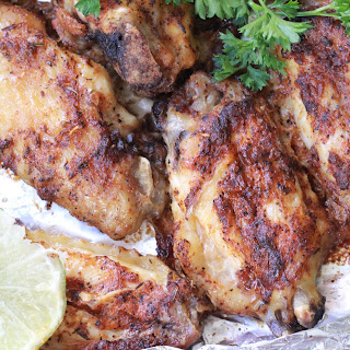 Foil-Packet Grilled Jerk Chicken Wings