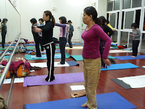 Photo: 20110406健康活力瑜珈004