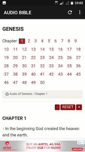 KJV English Audio Bible 1.0.3 screenshots 2