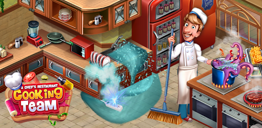 Cooking Team  Chef's Roger Restaurant Games Mod Apk 4.7