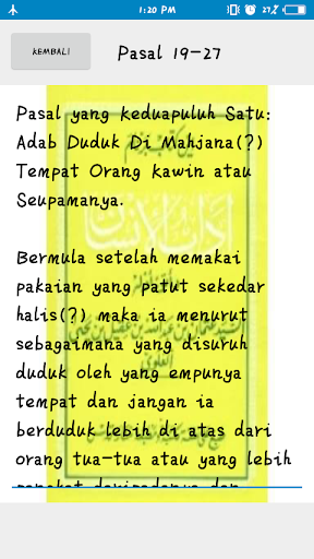 Kitab Adabul Insan screenshot 2