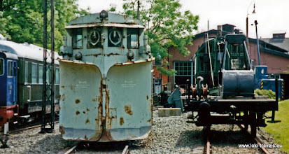 Photo: Neuenmarkt. Stoomlocomotieven museum.