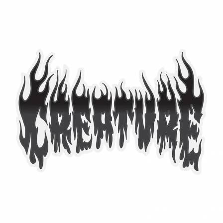 Creature - Firestarter Sticker 4.125 in x 2.75 in