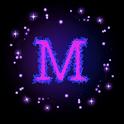 M Letter Wallpaper icon