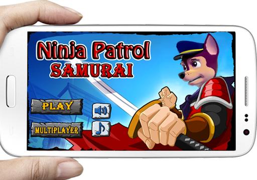 paw ninja patrol samurai