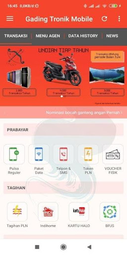 gading tronik mobile screenshot 1
