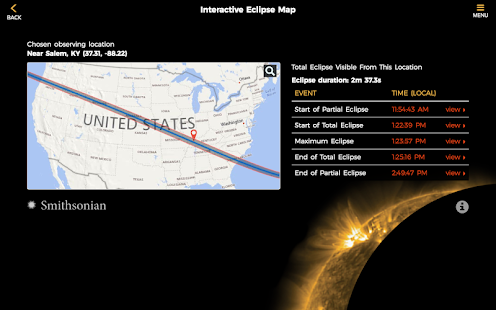 Smithsonian Eclipse 2017 Android Apps on Google Play