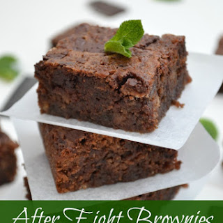 After Eight Brownies.