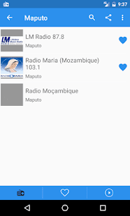 Radio Mozambique Free Online - Fm stations - náhled