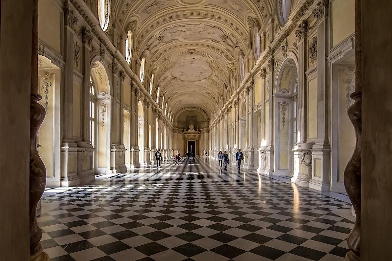 reggia di venaria reale, la galleria grande, Torino di utente cancellato