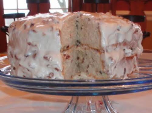 "Butter Pecan Cake ""This is one of the best cakes I have..."