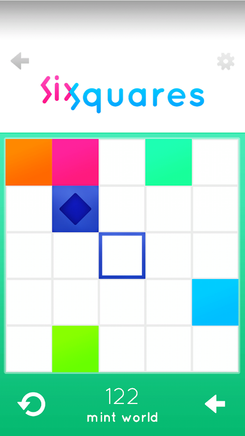 SixSquares - Fresh Puzzle Game- screenshot