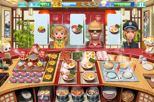 Crazy Cooking - Star Chef 1.7.2 Screenshots 5