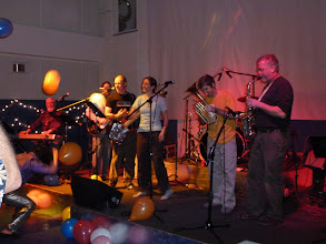Photo: Band #2 singing Happy Birthday to Katie