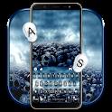 Battleground Skulls Keyboard Theme icon