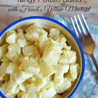 Tangy Potato Salad Recipe with French's Yellow Mustard.