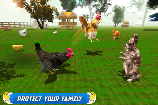 New Hen Family Simulator: Chicken Farming Games apkpoly screenshots 10