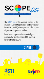 STI Senior High SCOPE Lite- screenshot thumbnail