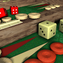 Backgammon V+, solo and multiplayer backgammon icon
