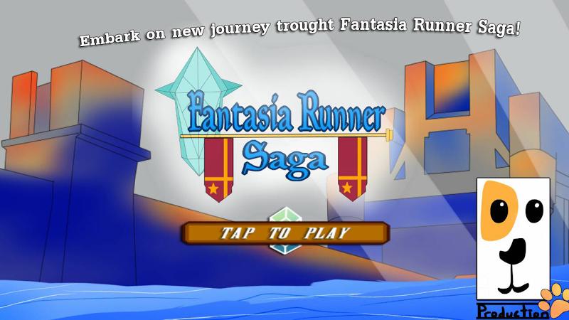 Скриншот Fantasia Runner Saga