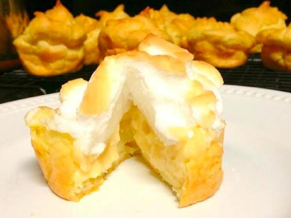 Lemon Meringue Profiteroles