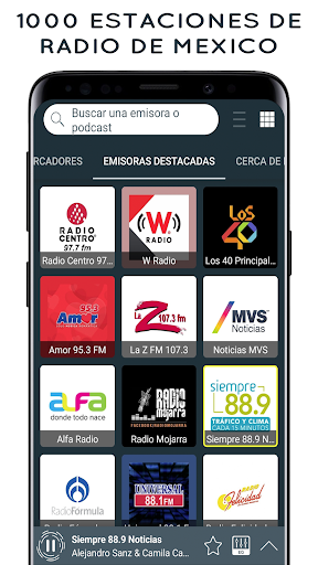 Radio Mexico: Online Radio, Internet Radio screenshots 1