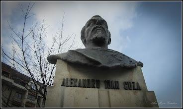 Photo: Cluj-Napoca - Str. Cuza Voda, Bustul lui Alexandru Ioan Cuza - 2018.01.19