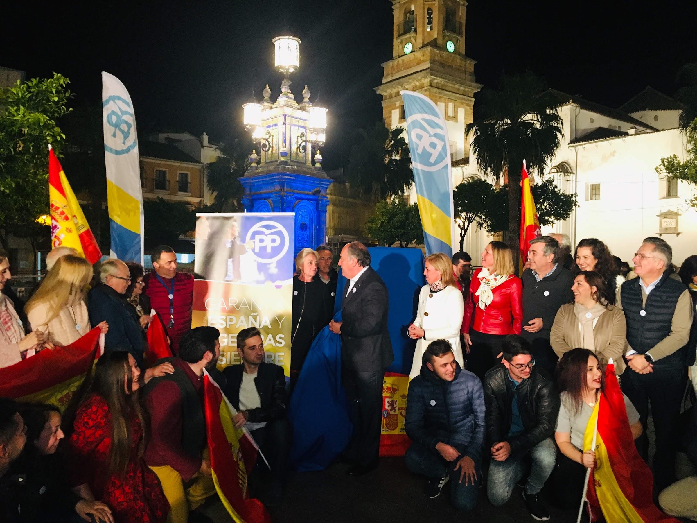 """Landaluce: """"Somos ese partido que suma y defiende los intereses de España"""""""
